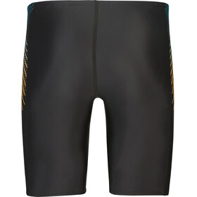 speedo Tech Panel Jammer Heren, black/mango/pool